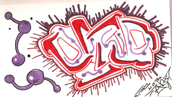 osito graffiti piece